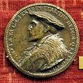 Anonimo, medaglia di antonio de leiva, gov. di milano, post 1530.JPG