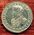 Anonimo, medaglia di ercole II d'este, post 1534, arg..JPG