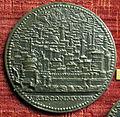 Anonimo, medaglia di gabriele serbelloni, verso con veduta di roma.JPG