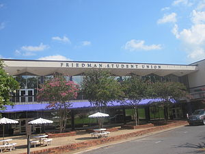 Sylvan Friedman - The student union building at Northwestern State University in Natchitoches, Louisiana, is named for former State Senator Sylvan Friedman, who worked to secure funding for the structure.