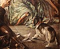 Anselm feuerbach, la morte di pietro aretino, 1854 (basilea, kunstmuseum) 04 cane.jpg
