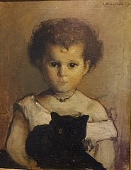 Menina do gato