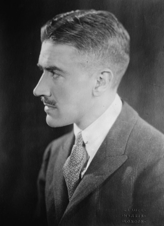 Anthony Ludovici - Portrait of Anthony Ludovici, by Claude Harris, 1927