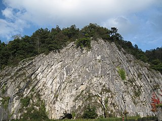The Durbuy Anticline or Homalius Rock is 300 million years old