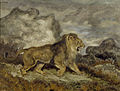 Antoine-Louis Barye - Lion and Serpent - Walters 37829.jpg