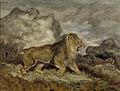 Antoine-Louis Barye - Lion and Serpent - Walters 37829.jpg