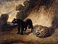 Antoine-Louis Barye - Two Jaguars from Peru - WGA01389.jpg