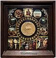 Anversa, agnus dei (1500-50 ca.) con al centro il sigillo di martino V (1417-31), 01.jpg
