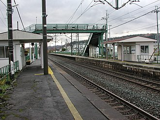Tomabechi Station - Tomabechi Station in November 2007