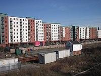 Apartment living comes to St Helens - geograph.org.uk - 1804744
