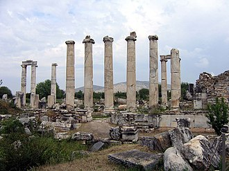 Aphrodisias - The Temple of Aphrodite.
