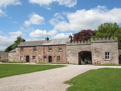 Appleby Castle- inner gateway (geograph 4958742)