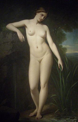 Arethusa (mythology) - Image: Aréthuse, Legras