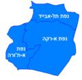Ar-Raqqah Hebrew districts.png