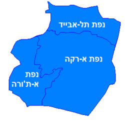 Ar-Raqqah Hebrew districts.png
