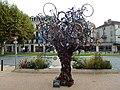 Arbre à vélos, Florent Poujade, plaque.jpg