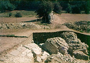 Portus Lemanis - Archaeological excavations of the east gate of Portus Lemanis in 1976
