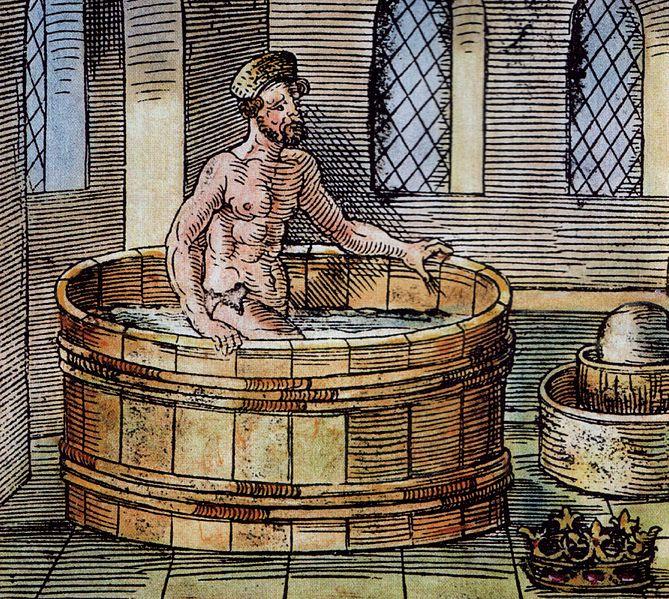 Archemedes bath