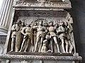 Arco trionfale del Castel Nuovo, 12 partenza di alfonso.JPG