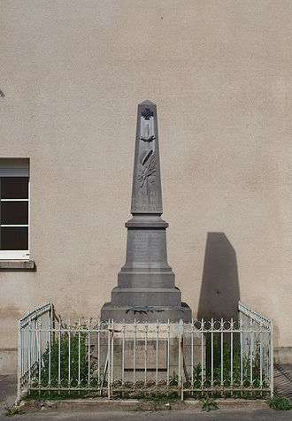 Ardeuil-et-Montfauxelles - The War Memorial