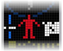 Incroyables humains dans HUMANITE 220px-Arecibo_message_part_5