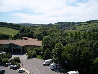 Argançon township in Grand Est, France