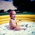 Arizona 1960 Baby in Inflatable Pool.jpg