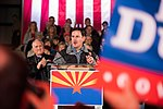 Arizona Governor Doug Ducey Speaks At Prescott Election Eve Rally (45788699131).jpg