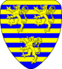 Coat of arms of Braine-l'Alleud, Brabant, Belgium