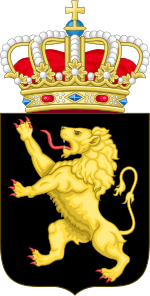 Arms of Belgium (with crown).svg