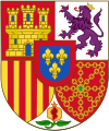 Arms of Spanish Monarch (corrections of heraldist requests).svg