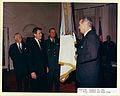 Army flag presented to LBJ.jpg