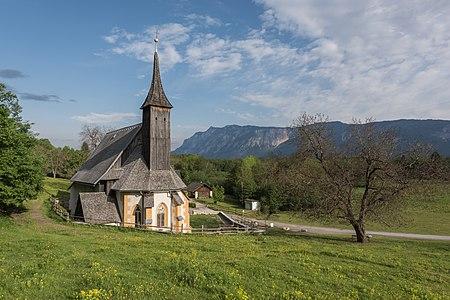 Pilgrimage church Maria Siebenbrunn, Arnoldstein, Carinthia, Austria