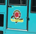 Arriva Guildford & West Surrey 3082 P282 FPK emblem.JPG