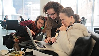 Art+Feminism Wikipedia Edit-a-thon 2015, The Museum of Modern Art, New York 11.JPG