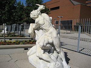 Art Gallery of Hamilton - Jef Lambeaux, The Murder, Irving Zucker Sculpture Court