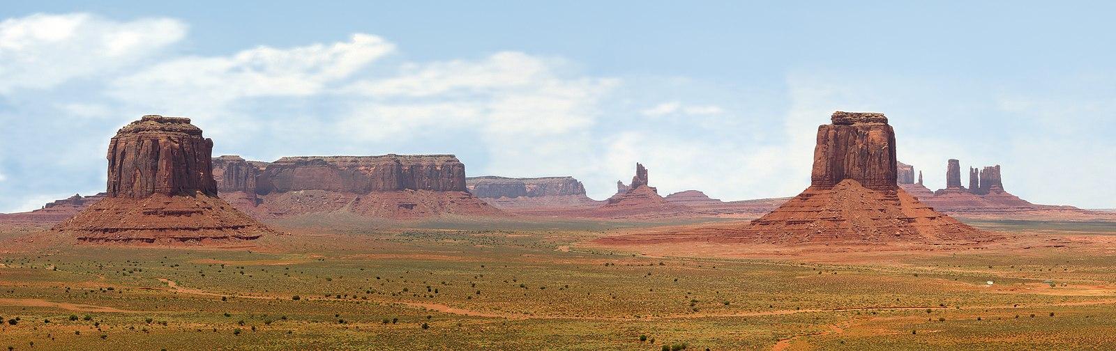 ruta por monument valley