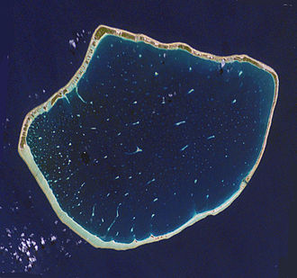 Arutua - NASA picture of Arutua Atoll