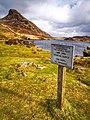 Arwydd.. Llynoedd Cregennan.. Sign (49608660672).jpg