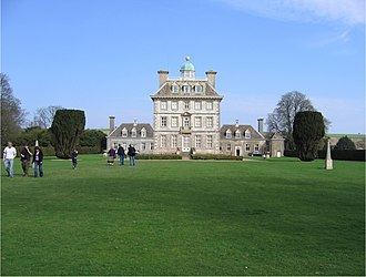 Brinsley FitzGerald - Ashdown House, viewed from the west