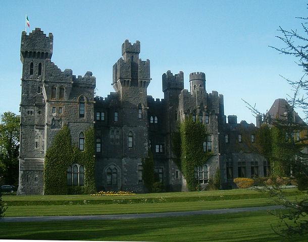 """""""Ashford Castle"""". Licensed under Public domain via Wikimedia Commons - https://commons.wikimedia.org/wiki/File:Ashford_Castle.jpg#mediaviewer/File:Ashford_Castle.jpg"""