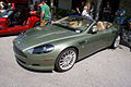 Aston Martin DB9 Volante 2006 Roadster LSideFront CECF 9April2011 (14600911505).jpg