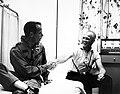 Astronaut Glenn congratulates Astronaut Carpenter on mission.jpg