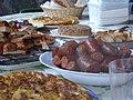 Asturian food, merienda in Pola de Lena.JPG