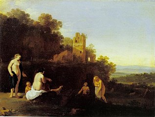 Landscape with the Discovery of Callisto's Pregnancy