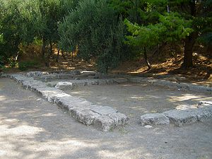 Platonism - Site of Plato's Academy in Athens