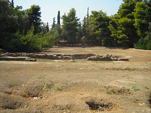 Plato's Academy Archaeological Site in Akadimi...