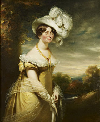 Princess Augusta Sophia of the United Kingdom - Portrait by William Beechey