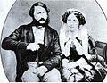 Augusto de Saxe-Coburgo-Gotha e Clementina de Orléans.jpg