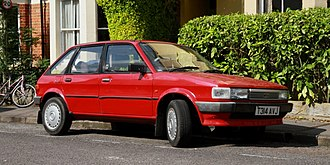 Austin Maestro - 1999-registered Maestro, probably assembled by Parkway Services from a stored kit